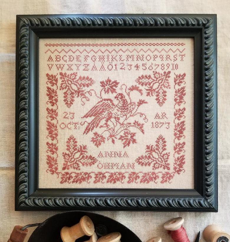 counted  cross stitch chart new My Witch/'s brew  Halloween sampler style